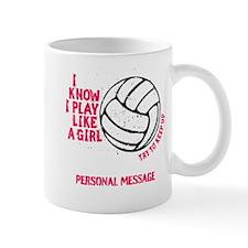 Personalized Volleyball Girl Mug