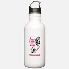 Personalized Runner Girl Water Bottle