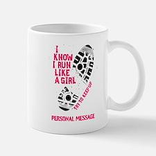 Personalized Runner Girl Mug