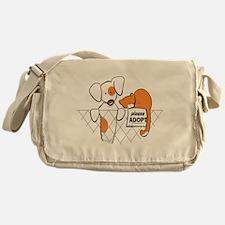 Adopt Pets Patch Rusty Messenger Bag