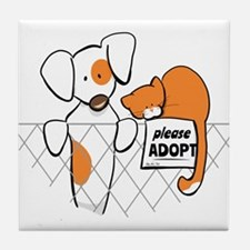 Adopt Pets Patch Rusty Tile Coaster