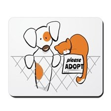 Adopt Pets Patch Rusty Mousepad