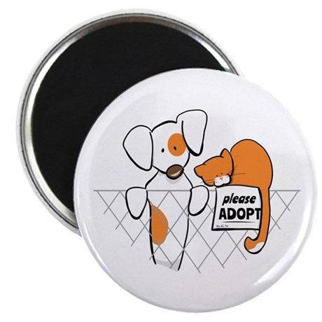 Adopt Pets Patch Rusty Magnet