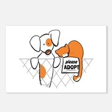 Adopt Pets Patch Rusty Postcards (Package of 8)