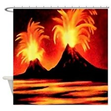 Nature-Beauty Extreme (2)SQ.jpg Shower Curtain