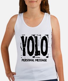 Personalized YOLO Women's Tank Top