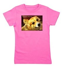 I Support Rescue Girl's Tee