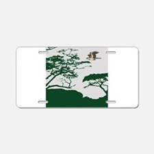 Flying Eagle Aluminum License Plate