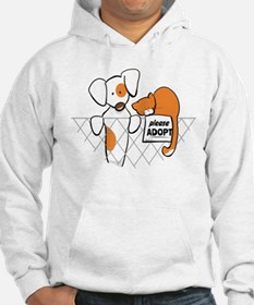 Adopt Pets Patch Rusty Hoodie