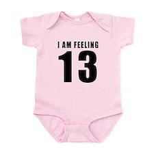 I am feeling 13 Onesie