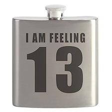 I am feeling 13 Flask