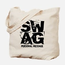 Personalized SWAG Tote Bag