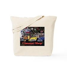 Chrome Shop Old Car Calender Tote Bag