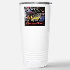 Chrome Shop Old Car Calender Travel Mug