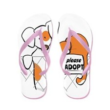 Adopt Pets Patch Rusty W Flip Flops