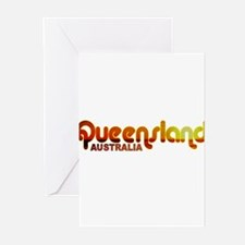 Queensland, Australia Greeting Cards (Pk of 10