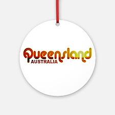 Queensland, Australia Ornament (Round)