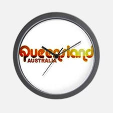 Queensland, Australia Wall Clock