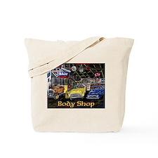 Classic Car Body Shop Calender Tote Bag