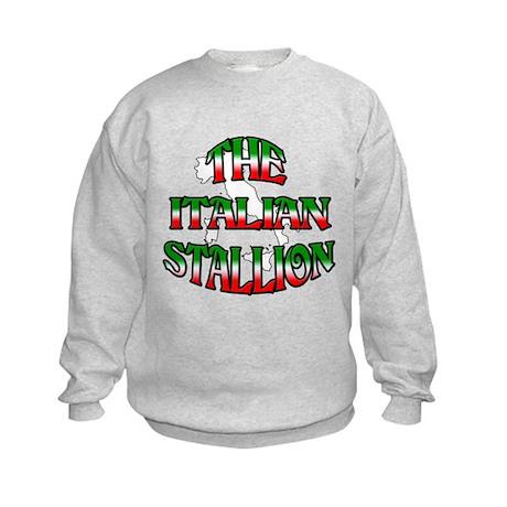 The Italian Stallion Kids Sweatshirt