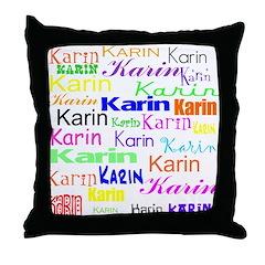 Karin Throw Pillow