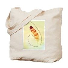 the Feather's message Tote Bag