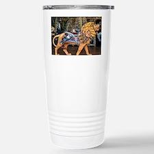 Photo of Carousel Lion Stainless Steel Travel Mug