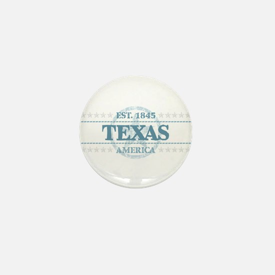 Texas Mini Button