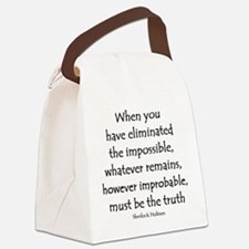 holmes eliminated Canvas Lunch Bag
