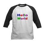 HELLO WORLD 2 Baseball Jersey