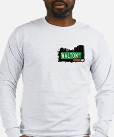 Walton Av, Bronx, NYC Long Sleeve T-Shirt