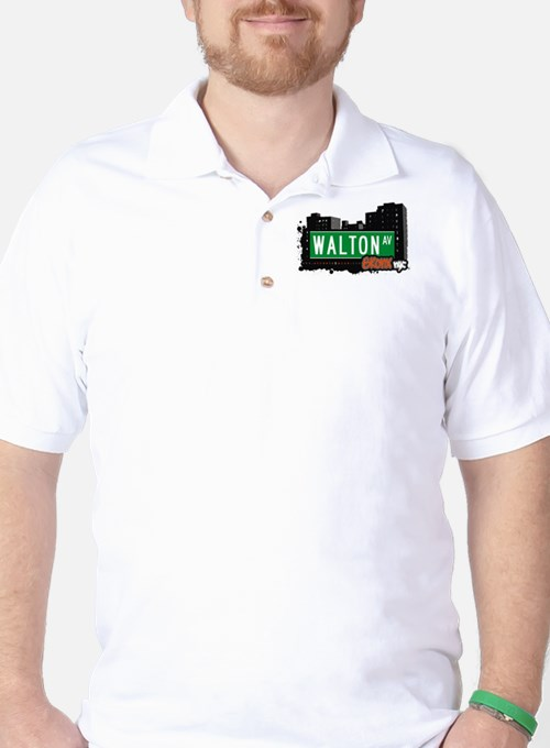Walton Av, Bronx, NYC Golf Shirt