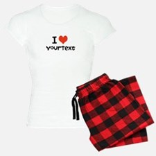 CUSTOMIZE I Heart Women's Pajamas