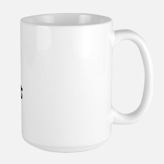 CUSTOMIZE I Heart Large Mug - Left