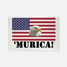 Murica Eagle Rectangle Magnet (10 pack)
