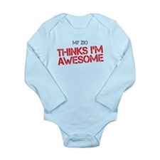 Zio Awesome Long Sleeve Infant Bodysuit
