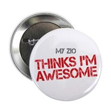 "Zio Awesome 2.25"" Button"