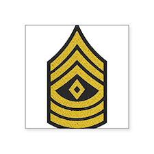 Army-1SG-Gold-Blue-Fancy Sticker