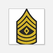 Army-1SG-Gold-Blue-Fancy Sticker