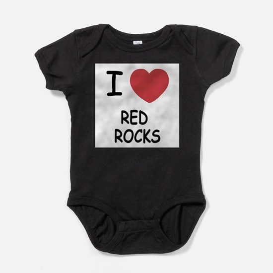 I heart red rocks Infant Bodysuit Body Suit