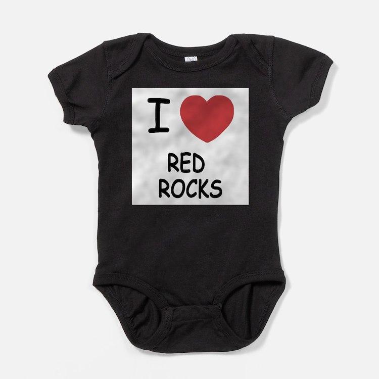 I heart red rocks Infant Bodysuit Body Suit