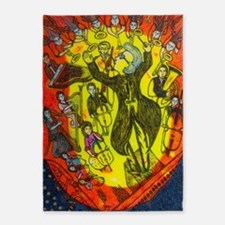 The great conductor 5'x7'Area Rug
