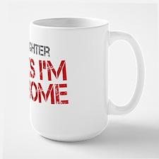 Daughter Awesome Large Mug