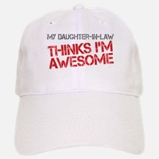 Daughter-In-Law Awesome Baseball Baseball Cap