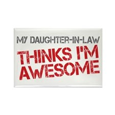 Daughter-In-Law Awesome Rectangle Magnet