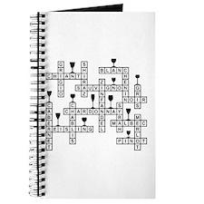 WINES SCRABBLE-STYLE Journal