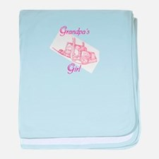 Grandpas Girl baby blanket
