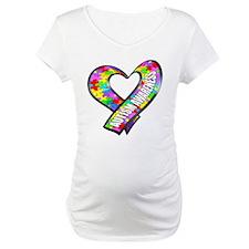 Puzzle Ribbon Heart Shirt