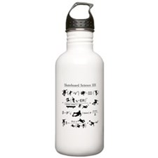Skateboard Science 101 Water Bottle