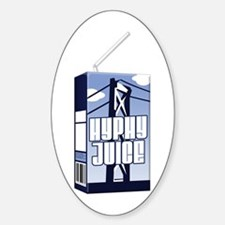 Hyphy Juice Oval Decal